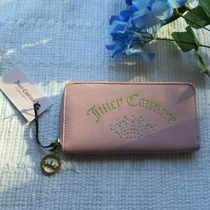 Juicy Couture • Pink Crown Wallet